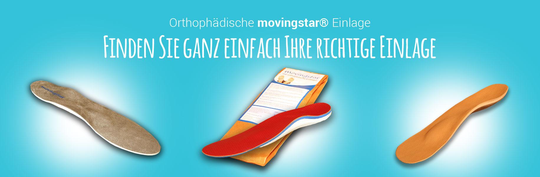 Einlagen-Berater für Ihre Movingstar-Einlagen