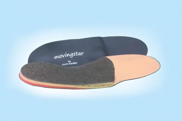 Movingstar® Maßeinlagen für besondere Fußprobleme